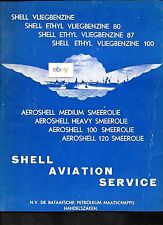 SHELL OIL COMPANY AMSTERDAM 1940 IMPERIAL AIRWAYS FLYING BOAT 1939 DUTCH AD