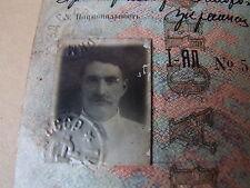 1941 Reisepass Pass Passport Ausweis UdSSR Sowjetunion Stalin Ukraine паспорт