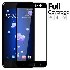 For HTC U11 Screen Protector Full Coverage 9H Hardness Tempered Glass Film