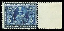 Scott 330 1907 5c Jamestown Exposition Issue Mint Fine OG NH Cat $350