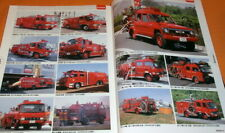 Japanese Fire Truck #Fire Engine) 1999-2005 photo book from japan #0737