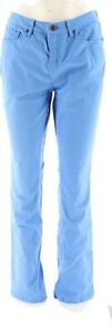 SkinnyJeans 2 Colored Fashionable Slim Bootcut Jeans Blue Crush 14 NEW A265433