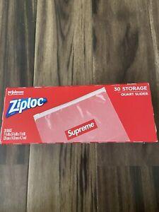Supreme Ziploc Zip Lock Bags (Box of 30 Count)