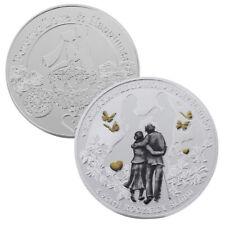 Medaglia polacca celebrazione ANNIVERSARIO MATRIMONIO amore felicità per sempre