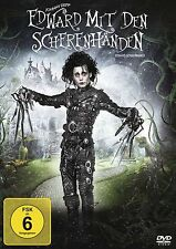 Edward with the Scissor hands - Tim Burton - Johnny Depp # DVD OVP NEW