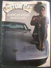Custom Car March 1982 Chevrolet Corvette