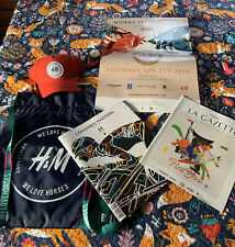 Rare H&M Equestrian Backpack Poster &Hat From Longines Masters Cup New York '19