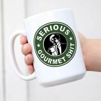 Goddamn Jimmy This Is Some Serious Gourmet Sh!t Mug Deluxe Double-Sided Coffee
