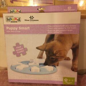 nina ottosson outward hound PUPPY SMART Level 1 Easy Open Box Excellent Mint Cdn