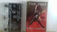 The Cult / Sonic Temple / Cassette Album / Cassette Alvum / Sisters Of Mercy /