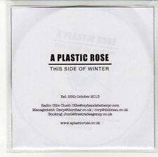 (EN323) A Plastic Rose, This Side Of Winter  - 2013 DJ CD