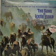 "OST - SOUNDTRACK - THE SONS OF KATIE ELDER - ELMER BERNSTEIN  12"" LP (M829)"