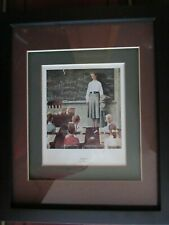"""Norman Rockwell Framed and matted Print """"Surprise"""""""