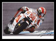 MARCO SIMONCELLI AUTOGRAPHED SIGNED & FRAMED PP POSTER PHOTO