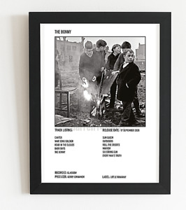 Gerry Cinnamon Poster The Bonny Album Art Polaroid Style Folk Rock A5,A4,A3