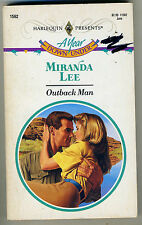 #1562 Outback Man by Miranda Lee (1991) - (A Year Down Under)