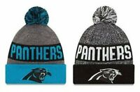 Carolina Panthers Cuffed Beanie Knit Winter Cap Hat NFL Authentic