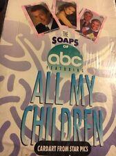 1991 ABC'S ALL MY CHILDREN SET 4 COMPLETE SET LOT 72 DIFFERENT SUSAN LUCCI