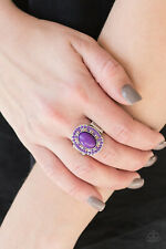 Colorfully Rustic Purple Ring By: Paparazzi