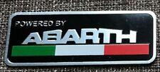 tuning badge logo Powered by Abarth embleem italian car badge italy