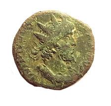 ANCIENT ROMAN COIN -  RADIATE  OF  TETRICUS  I. 271-274AD  #PZS36