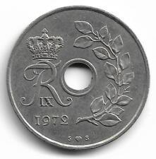 Danmark 25 Ore Coin - 1972 -  L@@K !!