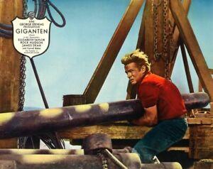 Einzelportrait JAMES DEAN in GIGANTEN | Original Aushangphoto 1950er Warner