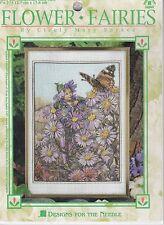 Michaelmas Daisy Fairy Stamped Cross Stitch Kit Designs Needle Flower Fairies