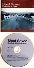 SHED SEVEN - She Left Me On Friday (CD Single Pt 2) (EX+/EX)