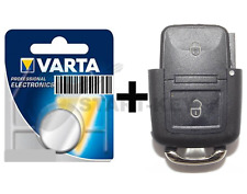 VW Seat Skoda Schlüssel 2Tasten Gehäuse Batterie Golf 4 Polo Sharan Alhambra