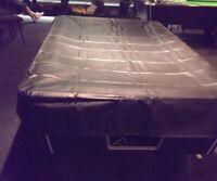 Rosetta 7ft fitted heavy duty waterproof pool snooker billiard table cover