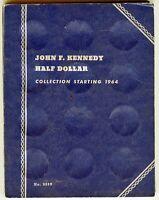 Whitman John F. Kennedy Half Dollar Collection starting 1964, #9699