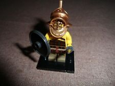 Lego Minifigures - Series 5 -Gladiator - Lego mini figure with base VG CONDITION
