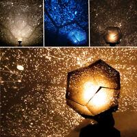 Romantic Astro Star Sky Laser Projector Cosmos Night Light Home Garden Bar