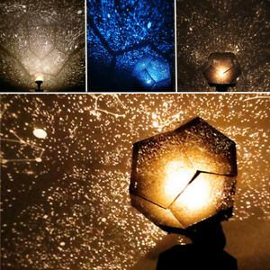 Galaxy Star Sky Night Light Laser Projector Cosmos Astro Baby Kids Room Decor