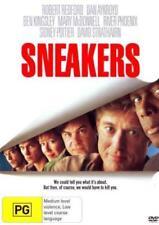 Sneakers DVD [New/Sealed] Robert Redford, Dan Aykroyd, Ben Kingsley