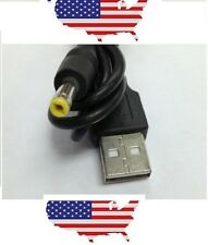 USB A 2.0 Male to 4.0 x 1.7mm Male Power Charge Cable for Sony PSP MP3 GPS USA
