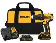 Dewalt Cordless Drill/Driver Kit 20Volt Lithium Ion LED lighting