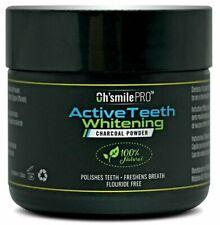 Oh'Smile Pro Active Teeth Whitening Charcoal Powder Tongue Detoxification