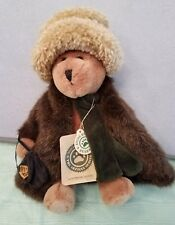 Boyds Bears Plush 'Aunt Bessie Skidoo' Bear W/Fur Coat-The Investment Collection