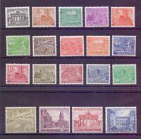 Berlin 1949 - Berliner Bauten - MiNr. 42/60 postfrisch** - Michel 750,00 € (594)