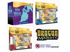 Pokemon Dragon Majesty Elite Trainer Box + Latios & Latias Pin Collection Bundle