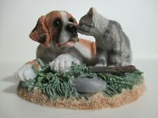St. Bernard Dog & Kitten by Westland Giftware, Item No. 3302
