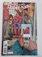 THE AMAZING SPIDER-MAN #16 (2015) WOMEN OF MARVEL VARIANT COVER 1ST PRINT NM
