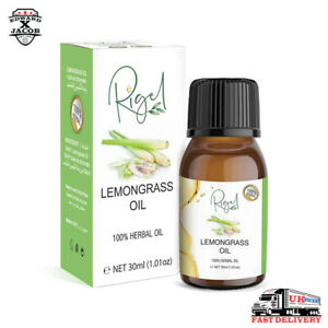 RIGEL - 100% Lemongrass Oil | Oil Helps Against Stress and Anxiety - 30ml