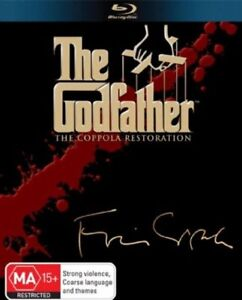 The Godfather:Coppola Restoration Collection(Blu-ray,2008,5-Disc Set) NEW+SEALED