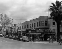 """1942 Fourth and Capitol Streets, Sacramento, CA Old Photo 8.5"""" x 11"""" Reprint"""