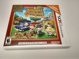 Nintendo Selects: Animal Crossing New Leaf Welcome Amiibo (Nintendo 3DS, 2017)