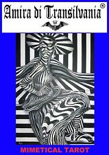 Camouflage tarot deck,book explanations.plan,rare edition vintage signed author