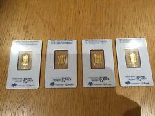 Gold bullion pamp suisse 1gram 24k Brand new